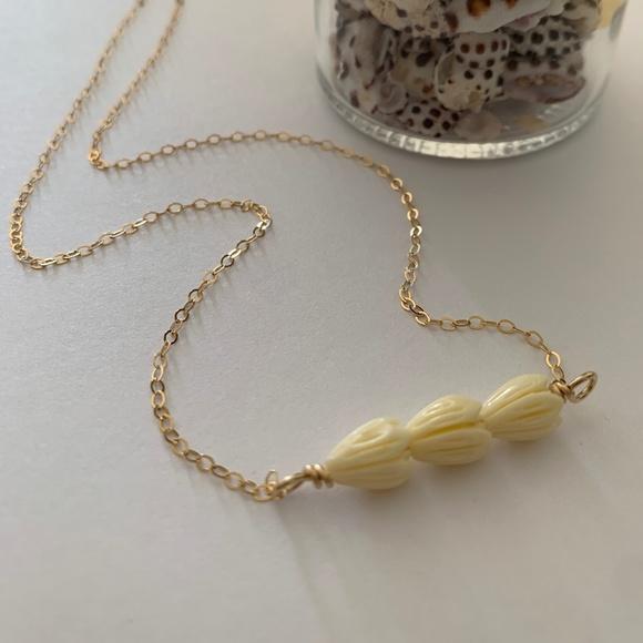 Pikake Triple Bar Necklace